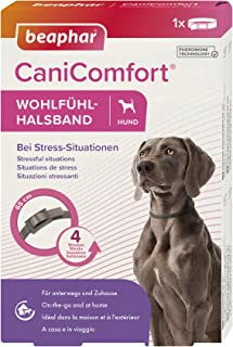 beaphar CaniComfort Comfortable Collar for Dogs with Pheromones for Stress Situations