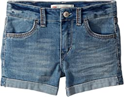 Thick Stitch Shorty Shorts (Little Kids)