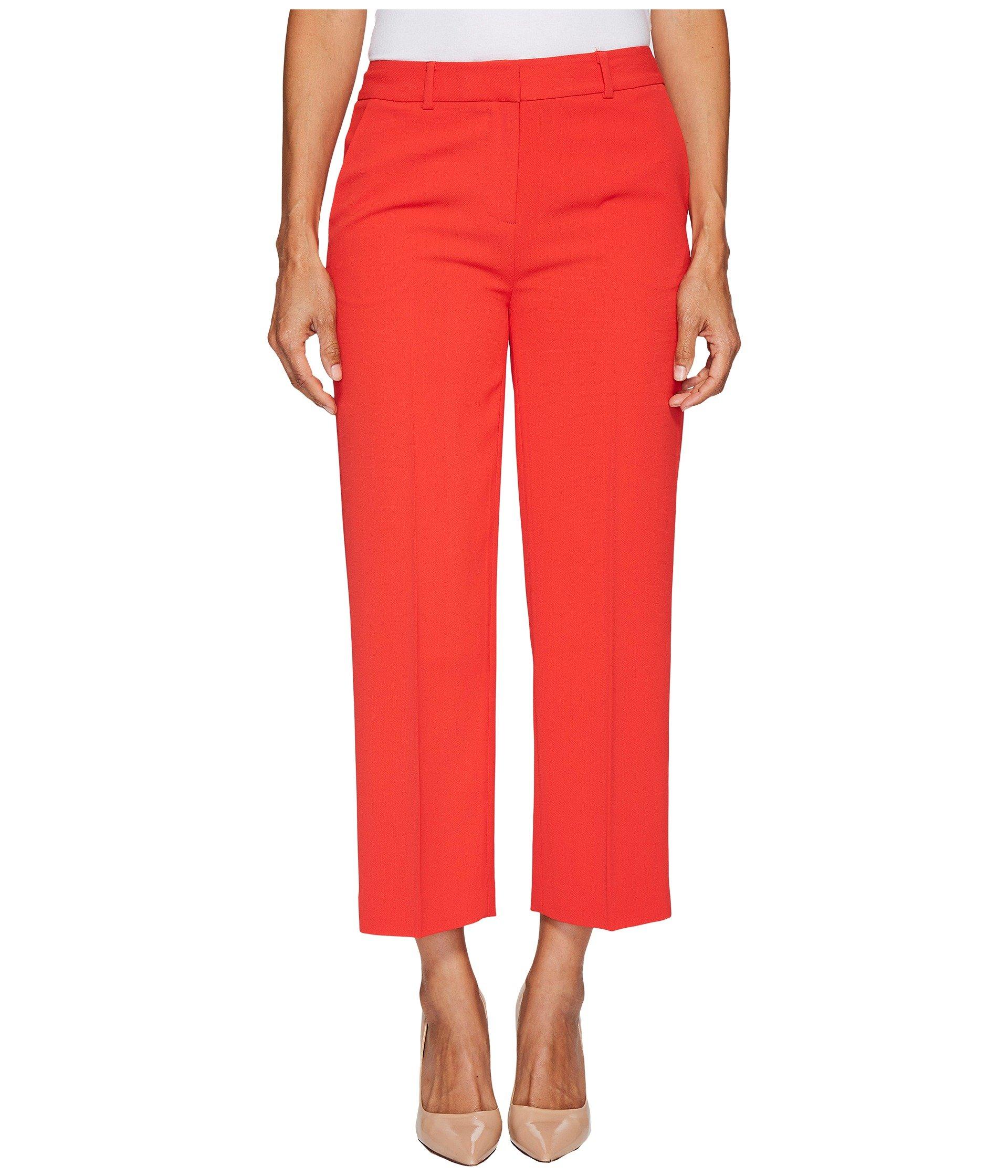 Pantalón para Mujer Vince Camuto Specialty Size Petite Texture Base Straight Leg Crop Pants  + Vince Camuto en VeoyCompro.net