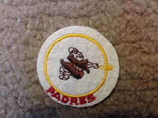 1970 VINTAGE SAN DIEGO PADRES IRON ON PATCH 2