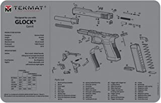 TekMat Gun Cleaning Mat for use with Glock Gen 4