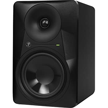 Mackie MR Series, Studio Monitor 6.5-Inch Professional-Grade with Ultra-wide Dispersion, Powered (MR624)