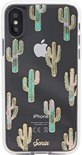 Sonix Mojave Cactus Case for iPhone X/XS [Military Drop Test Certified] Protective Clear Case for Apple iPhone X, iPhone Xs
