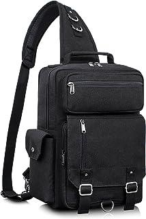 Leaper Messenger Bag Water-Resistant Sling Bag Cross Body Bag Shoulder Bag