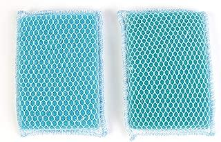 Butler Dawn Flip It Dual Sided Nylon Mesh and Cloth Kitchen Sponge, 12-pack (24 Sponges)