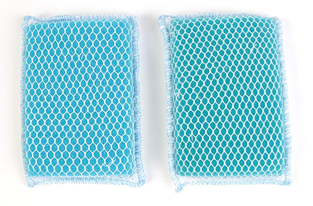 Butler Dawn Flip It Dual Sided Nylon Mesh and Cloth Kitchen Sponge, 3-pack (6 Sponges)