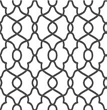 NuWallpaper NU2921 Black Clearly Cool Peel & Stick Wallpaper