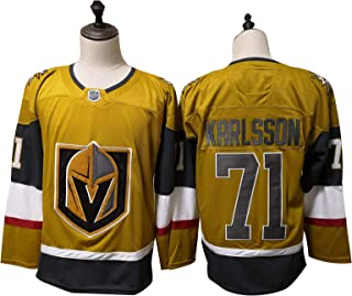 Vegas Golden Knights#71 William Karlsson NHL Ice Hockey Jerseys Men Sweatshirts Breathable Long Sleeve T-Shirt Women's Top...