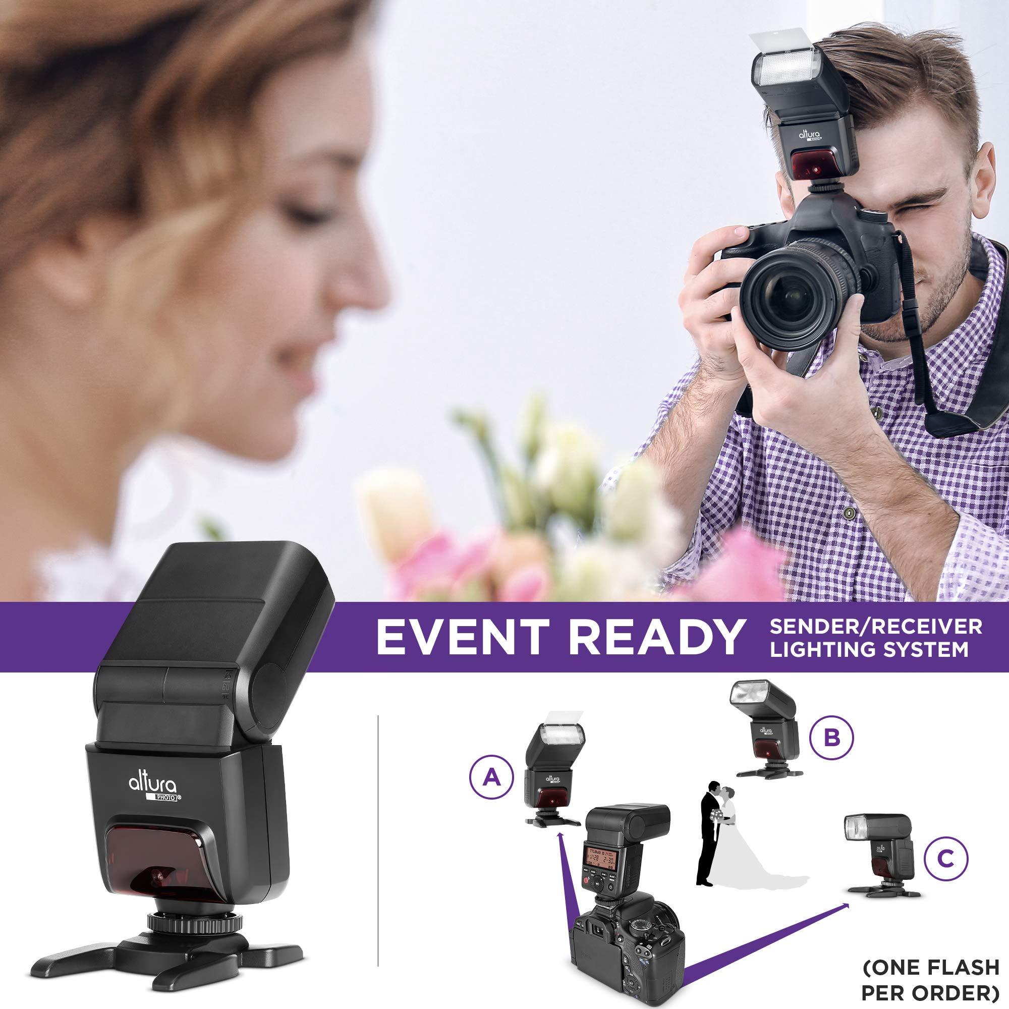 Amazon Com Camera Flash Speedlite Altura Photo Ap 305c For Canon Eos R Rp 90d 80d 70d Sl3 Sl2 Rebel T7 T7i T6 T6i 5d 6d 7d M5 M6 M50 M100 M200 2 4ghz E Ttl