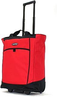 Olympia Fashion Rolling Shopper Tote - Red, 2300 cu. in.