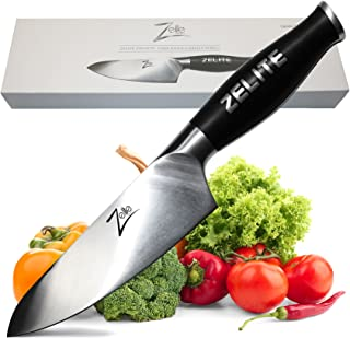 Zelite Infinity Chef Knife 6 Inch - Comfort-Pro Series - German High Carbon Stainless Steel - Razor Sharp, Super Comfortable