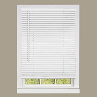 DEZ Furnishings QDWT350640 Cordless Light Filtering Pleated Shade 35W x 64L Inches White