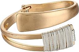 Robert Lee Morris - Wire Wrap Bypass Bangle Bracelet