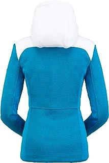 سترة صوفية للنساء من Spyder - ملابس خارجية بغطاء للرأس بسحاب كامل للسيدات