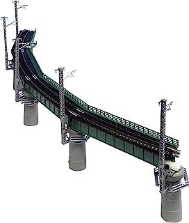 KATO Nゲージ カーブ鉄橋セットR448-60° 緑 20-823 鉄道模型用品