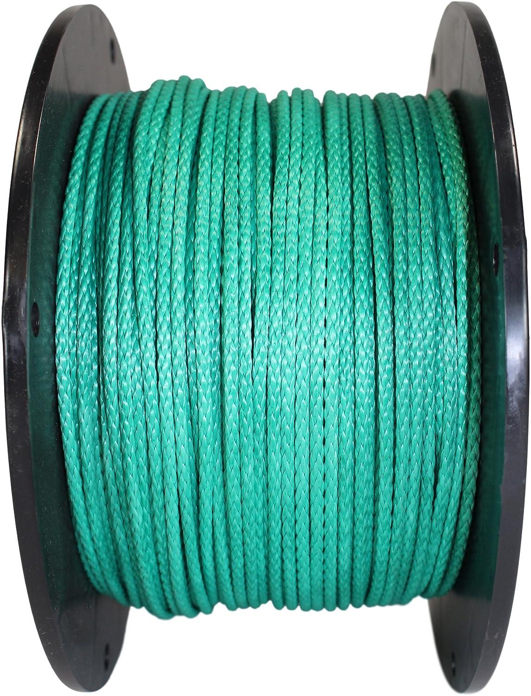 DIY SGT KNOTS Dyneema Rope Hammocks for Whoopie Slings Arborists Hollow Braid Rope 7//64 inch 25 ft - 600 ft - 7 Colors - Lightweight 12 Strand Dyneema Cord Boating Camping 2.5mm
