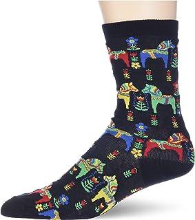 K. Bell Socks womens Solid Colored Crew Socks