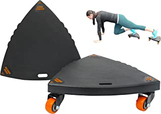 Core Coaster - Ab, Core and Total Body Wheel Ab Roller Exerciser (2 Core Coasters)