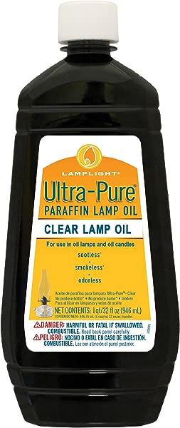 Lamplight Ultra Pure Lamp Oil Clear 32 Ounces