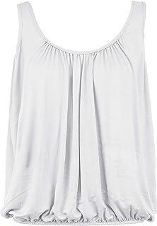 7137b13b00e3b0 Body2Body BNWT Women's Vest Top Loose Fit Elasticated Waist Sleeveless T  Shirt