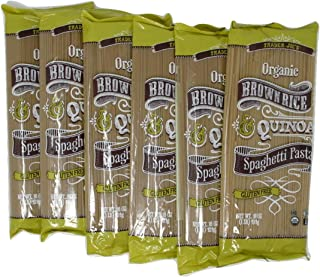 Trader Joes Brown Rice Quinoa Spaghetti Pasta Pack of 6