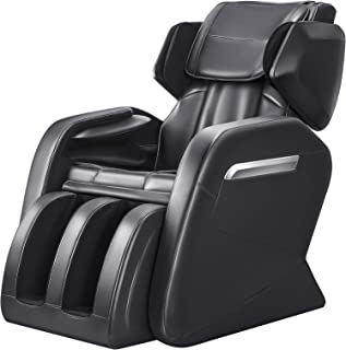 OOTORI Full Body Electric Massage Chair, Zero Gravity,Back Heating, Zero Space Design (Black)