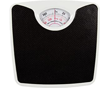 CTG, Black Standard Vinyl Bathroom Body Scale, 10.5 x 2 inches