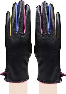 Bongio Womens designer Gloves(Black)