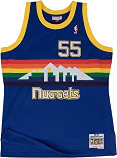 Mitchell & Ness Dikembe Mutombo 1991-92 Denver Nuggets Blue HWC Swingman Jersey