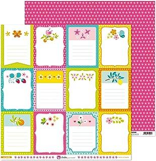 Anita y Su Mundo Collection Mi Jardin, papier de scrapbooking, papier, cartes, 30,5 x 30,5 cm