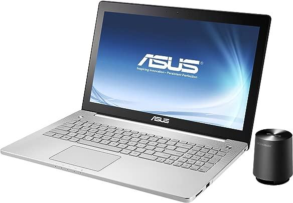 Asus N550JK-CN111H 39 6 cm  15 6 Zoll  Laptop  Intel Core i7 4700HQ  2 4GHz  8GB RAM  1 5TB HDD  NVIDIA GTX 850M 4GB   DVD  Win 8  silber