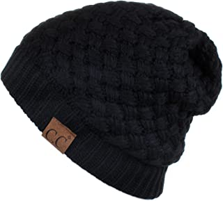 C.C Exclusives Knit Warm Inner Lined Soft Stretch Skully Beanie Hat (HAT-47)