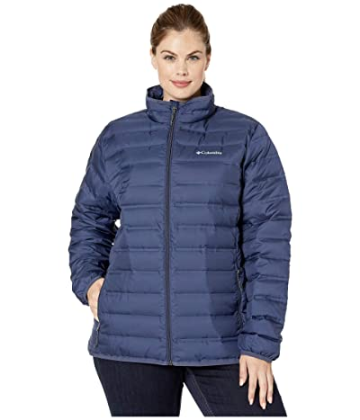Columbia Plus Size Lake 22tm Down Jacket (Nocturnal) Women