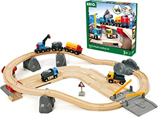 BRIO 33210 Rail and Road Loading Set