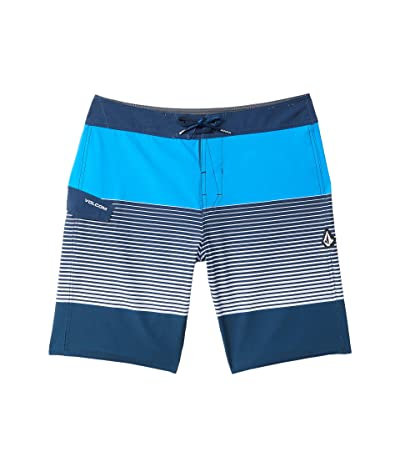 Volcom Kids Lido Liney Mod (Big Kids) (True Blue) Boy