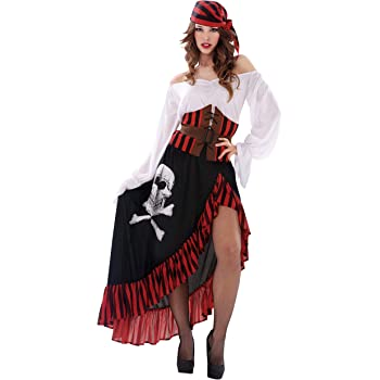My Other Me Me-203657 Disfraz de pirata bandana para mujer, S ...