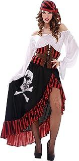 My Other Me Me-200626 Disfraz de pirata bandana para mujer,