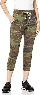 Alternative Women's Eco Cropped Jogger Pant, camo