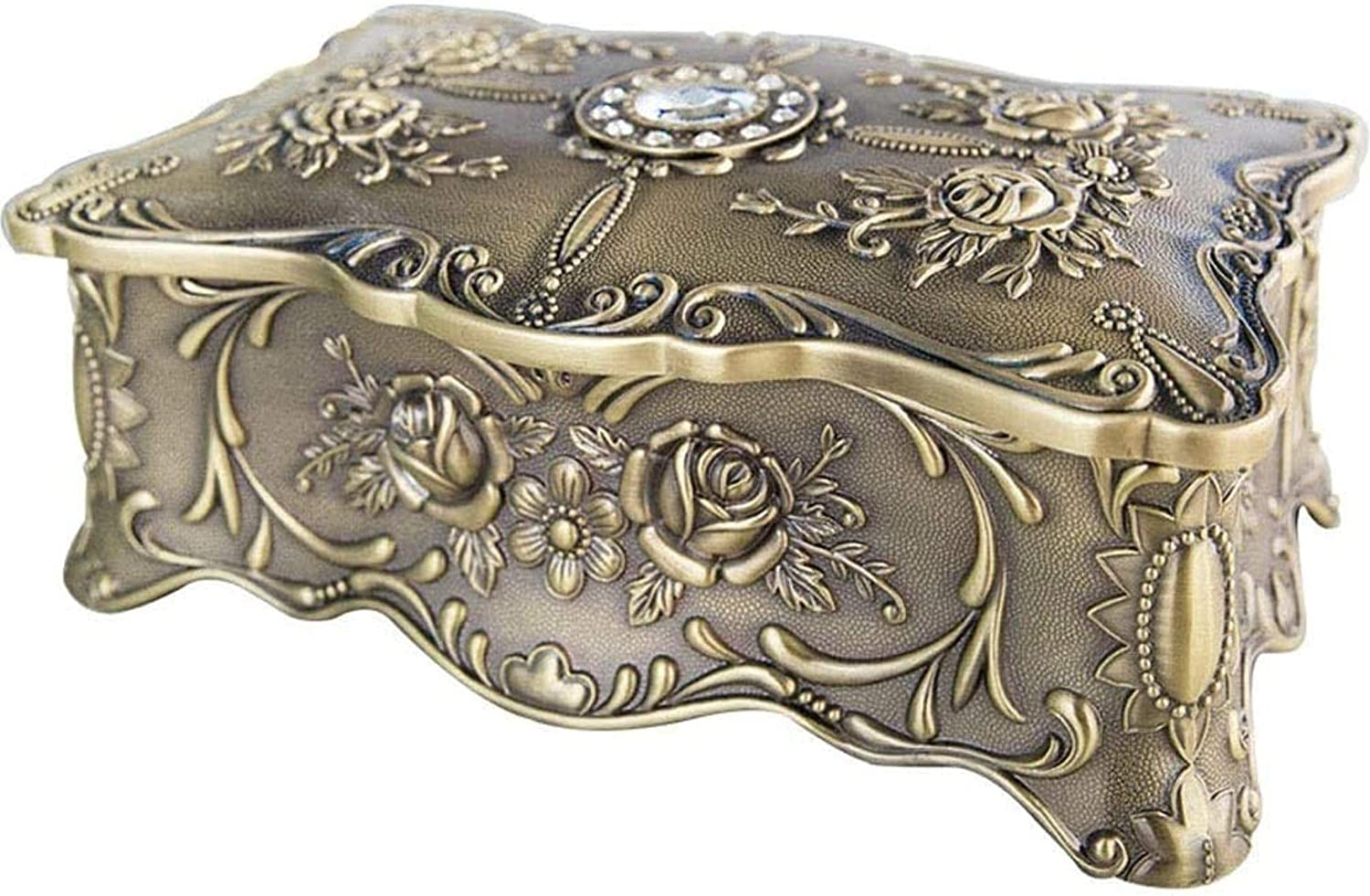ZXCVBNN European Style Genuine Creative Double Layer Jew Jewellery Chest 67% OFF of fixed price