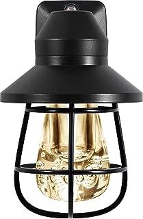 GE Vintage LED Night Light, Plug-In, Dusk-to-Dawn, Farmhouse Décor, Rustic, UL Listed,,..