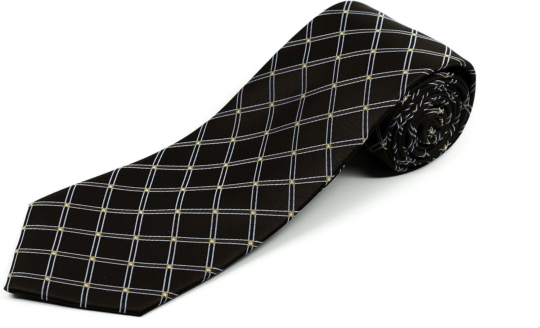 オープニング 大放出セール 爆安プライス Long Tie Store Extra Silk Necktie for Widt Men Reg Tall