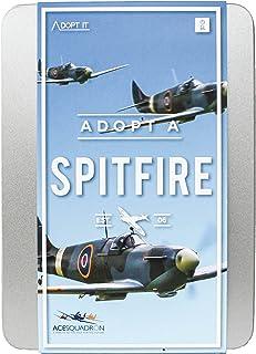 Spitfire Adopt It - Historic Airplane Adoption Tin