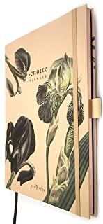 Premium Weekly Undated 2020 Planner Senotte. Floral Hardcover Agenda, Personal Organizer with Monthly Calendar, Daily Overview, Thick 100 GSM Paper, Pen Loop and Inner Pocket, Bloom Pattern