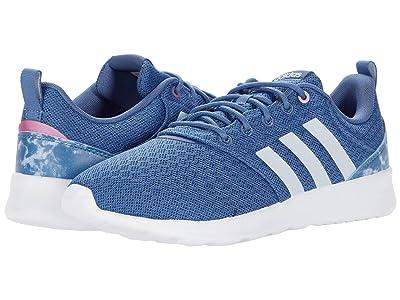adidas Running QT Racer 2.0 (Crew Blue/Halo Blue/Cherry Metallic) Women