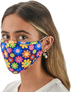 Slumbies! Cloth Face Coverings for Women & Men - Washable Face Coverings - Reusable Face Coverings - Flexible Nose Bridge ...