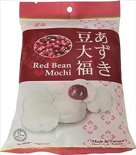 Royal Family Big Mochi, japanese mochi candy dessert rice cake, Red Bean Flavor, 4.2oz/pk (Pack of 1)