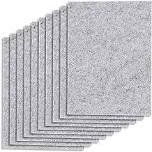 Anpro 10 Pack Premium DIY Furniture Pads Furniture Felt Sheet for Hard Surfaces Floor Protector Pads 14 * 20cm