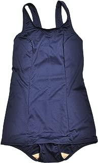 [KASAJIMA] 女子 スクール水着 女児用 ワンピース スイミング 水泳 スイムウェア ジュニア 紺色 旧スク水 キッズから大人までカバー 大きいサイズ6Lまで