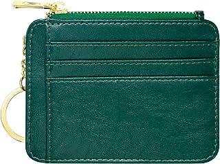 Padike Credit Card Holder Wallet Credit Card Holder for Women Slim Wallet for Women Card Wallets for Women (Green)