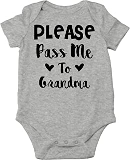 Please Pass Me to Grandma - I Love My Gigi, I'd Rather Be with Her - Cute One-Piece Infant Baby Bodysuit